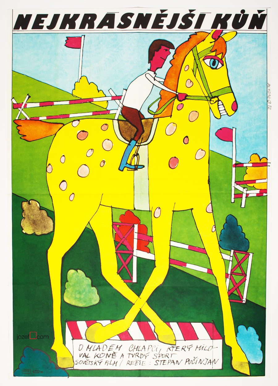 Kids poster, The Most Beautiful Horse