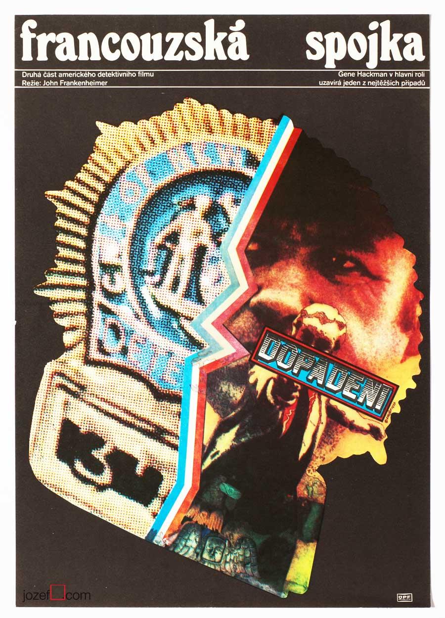 Movie Poster French Connection Zdeněk Ziegler 1977