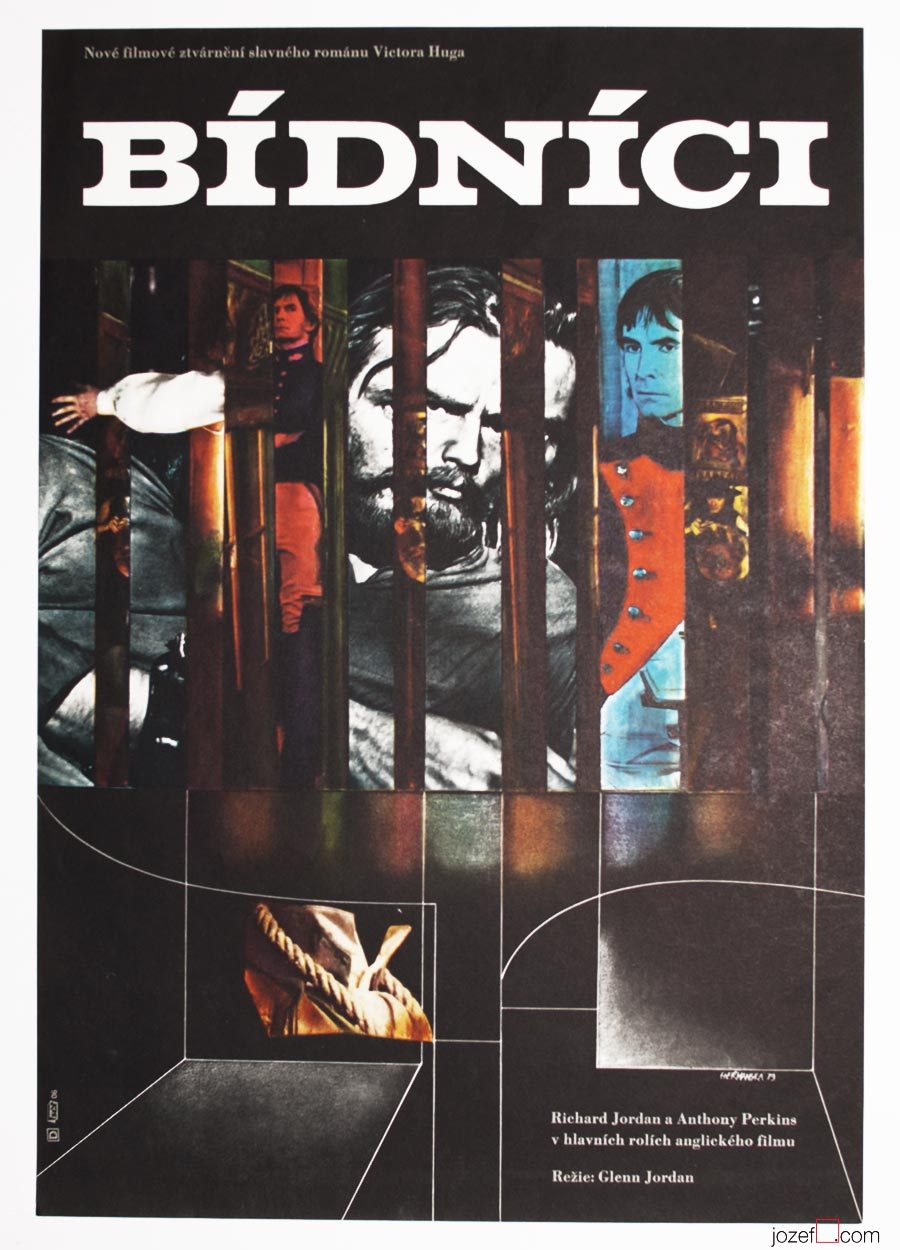 Les Miserables poster, 1970s Poster Art