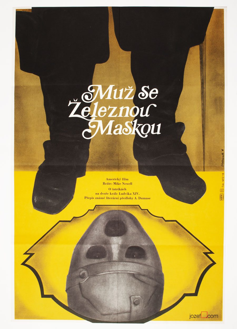 The Man in the Iron Mask, Movie Poster