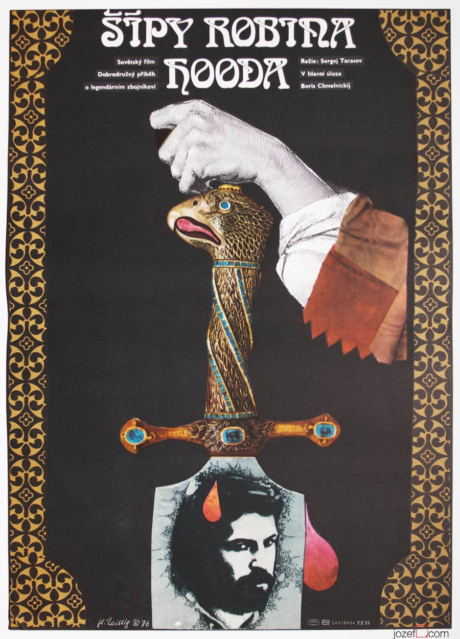 Robin Hood poster, Karel Teissig