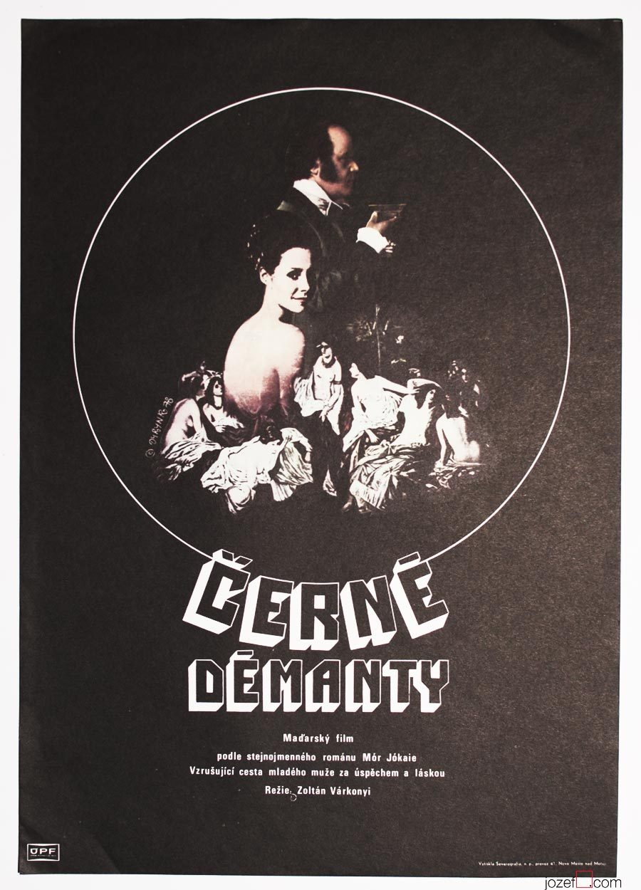 Vintage Movie Poster, 1970s Poster Design