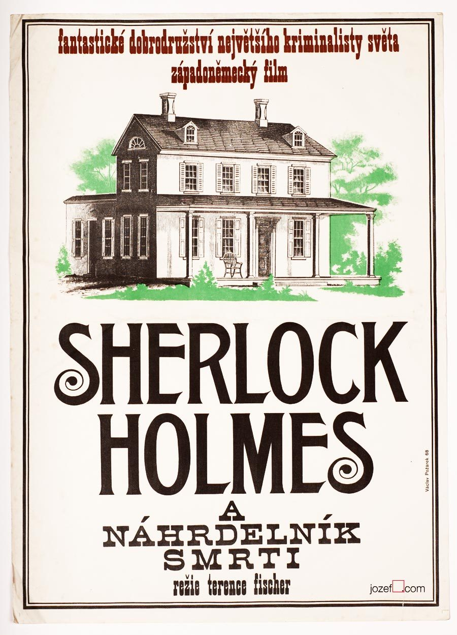 Sherlock Holmes poster, 1960s movie poster