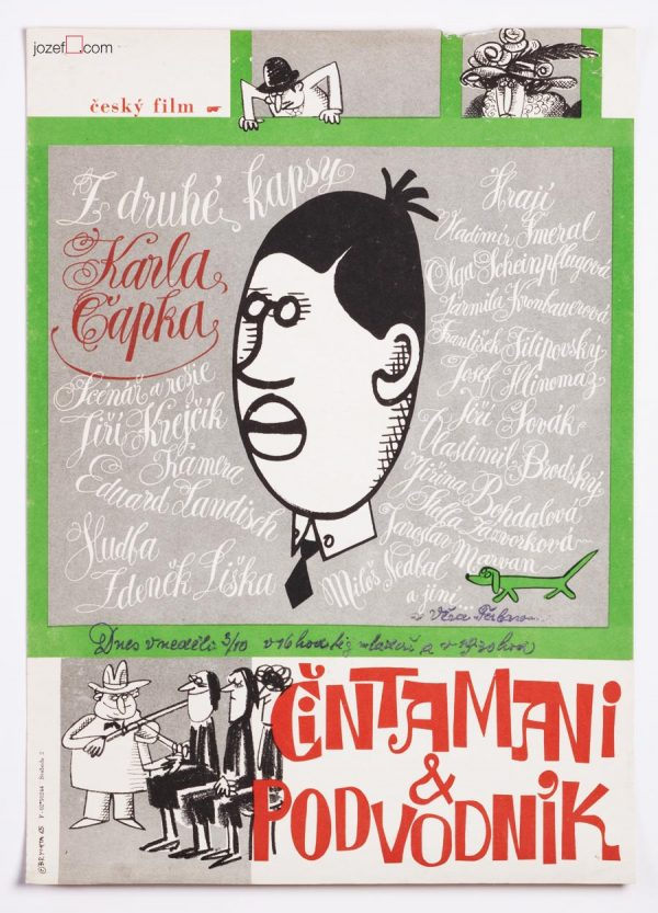 Karel Čapek, 60s movie poster