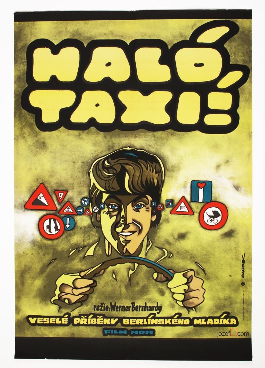 Kája Saudek, 1970s poster illustration