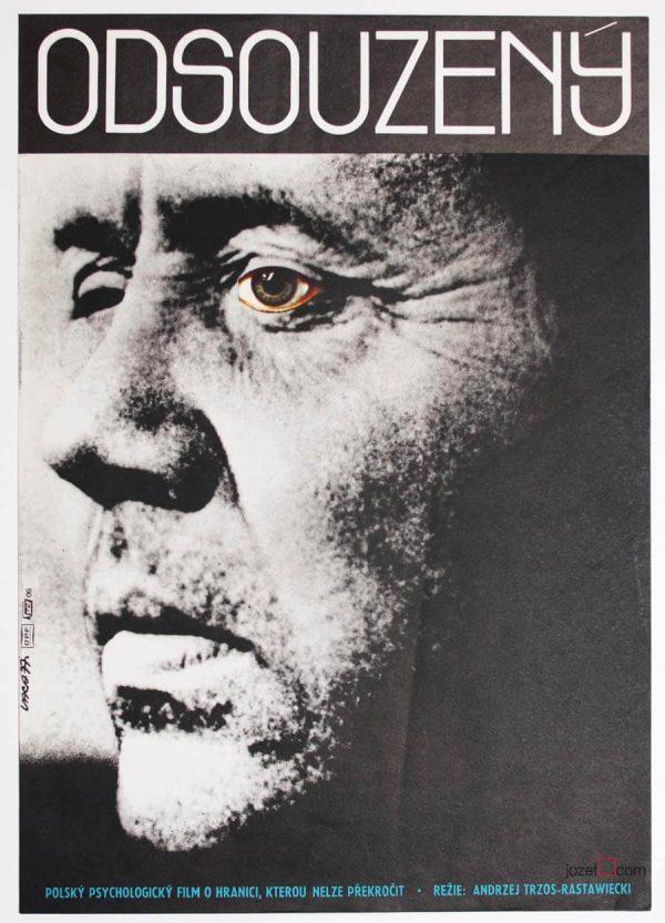 Minimalist movie poster, Convicted