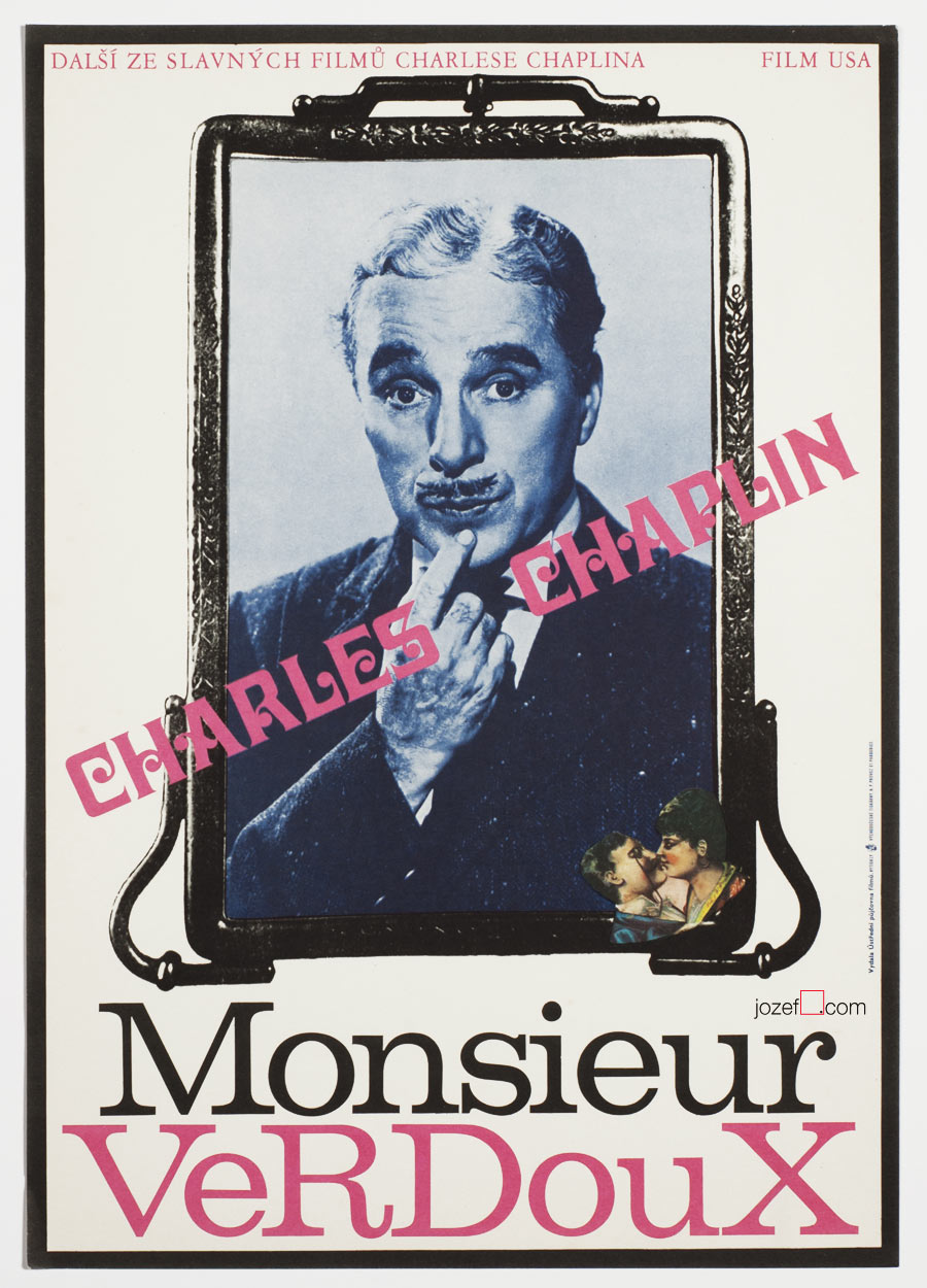 Monsieur Verdoux, Original movie poster