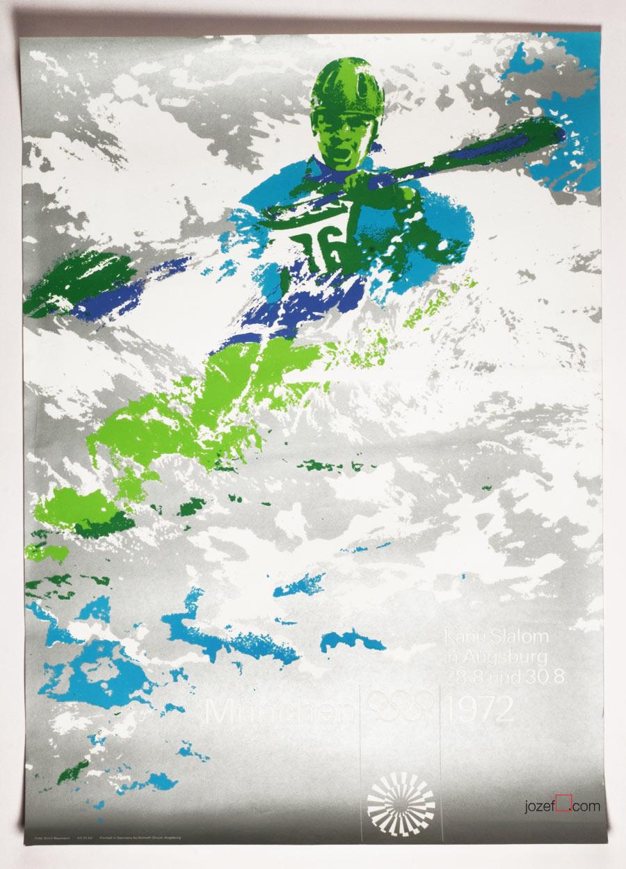 Olympic Poster Design, Otl Aicher, Modern Poster Art