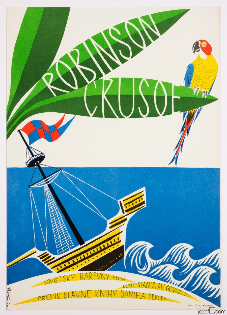 Robinson Crusoe, Kids movie poster
