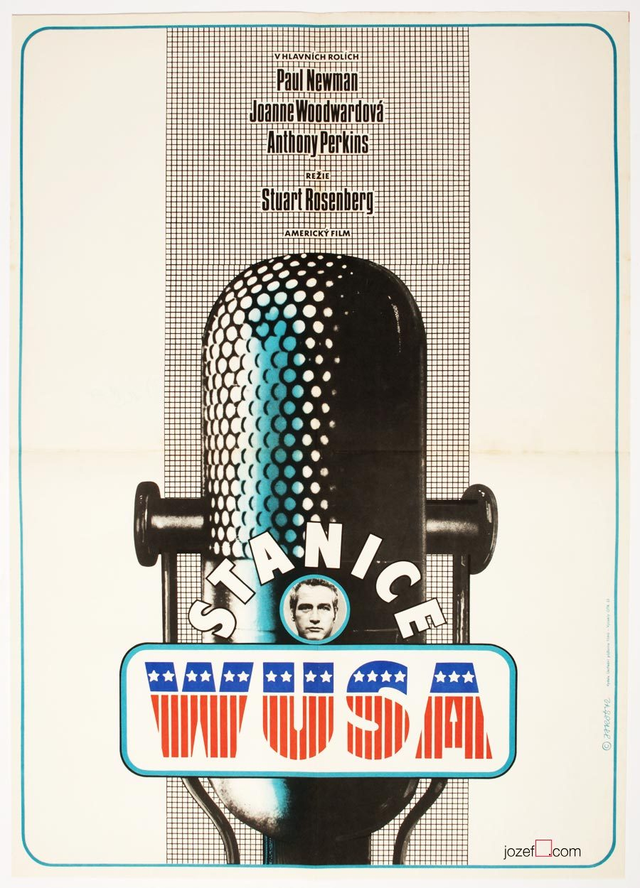 WUSA, Vintage Movie Poster, A1 Poster size