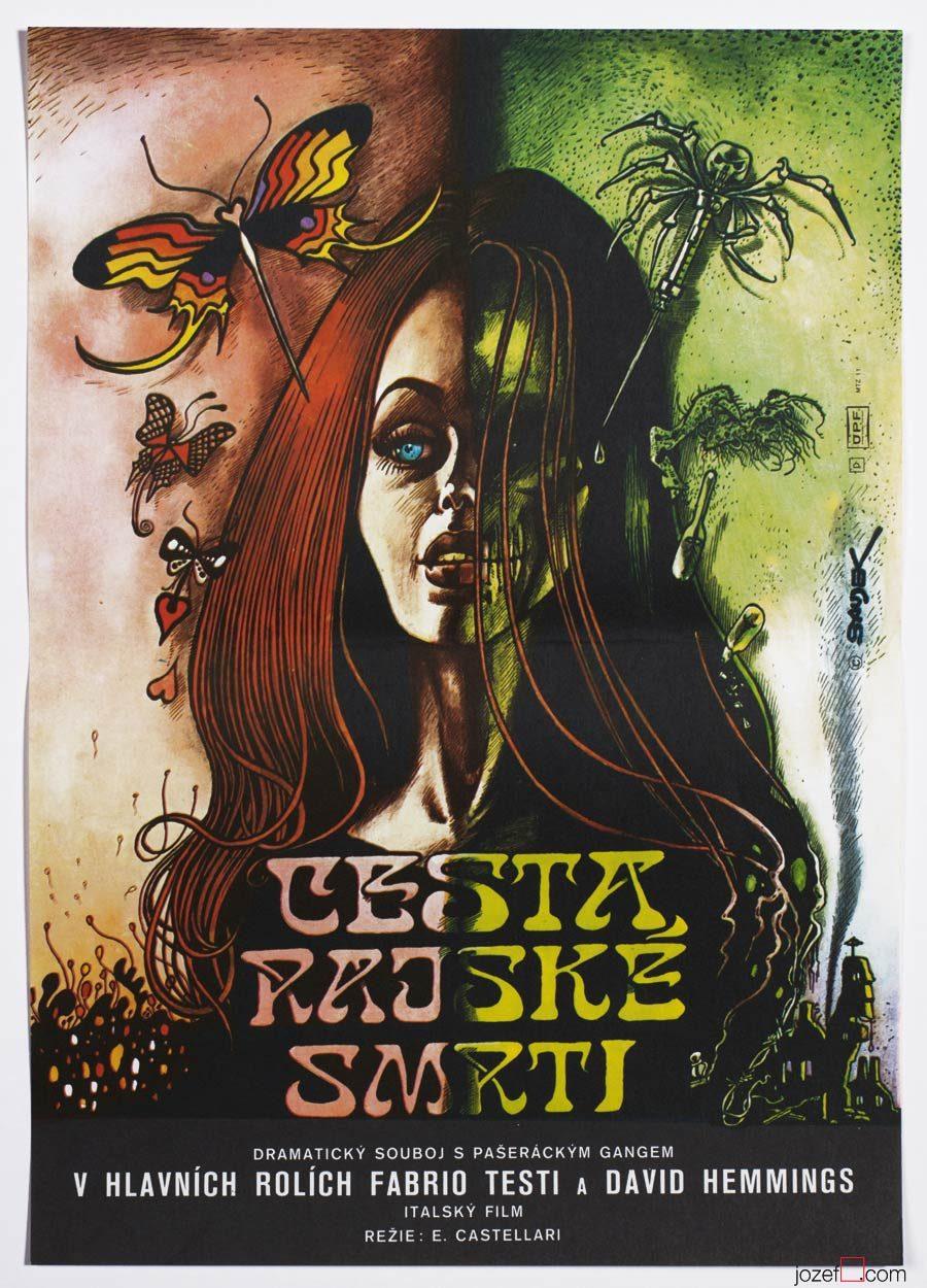 Movie Poster, Karel Saudek, The Heroin Busters