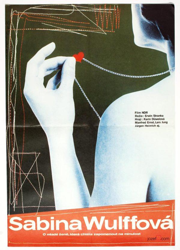 Sabine Wulff, 1970s poster design.