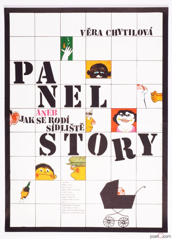 Prefab Story, 70s Movie Poster