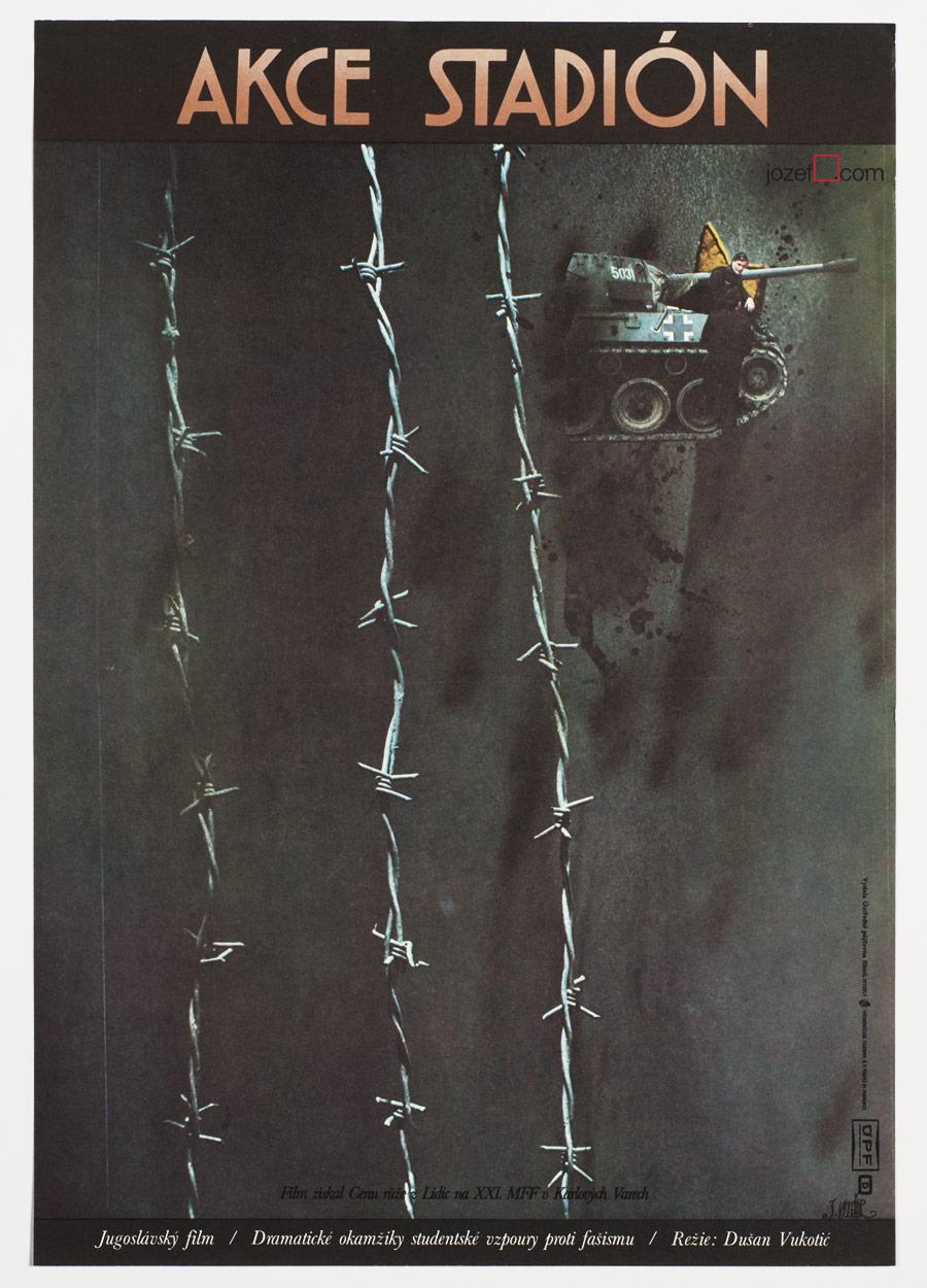 Vintage Movie Poster, Minimalist Poster Design