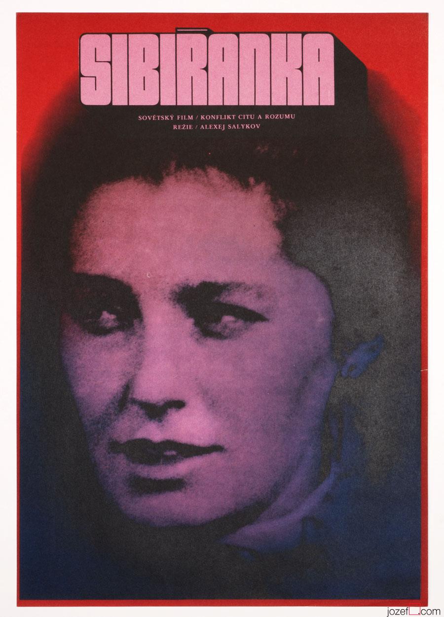 FIlm poste, Karel Vaca, 1970s poster