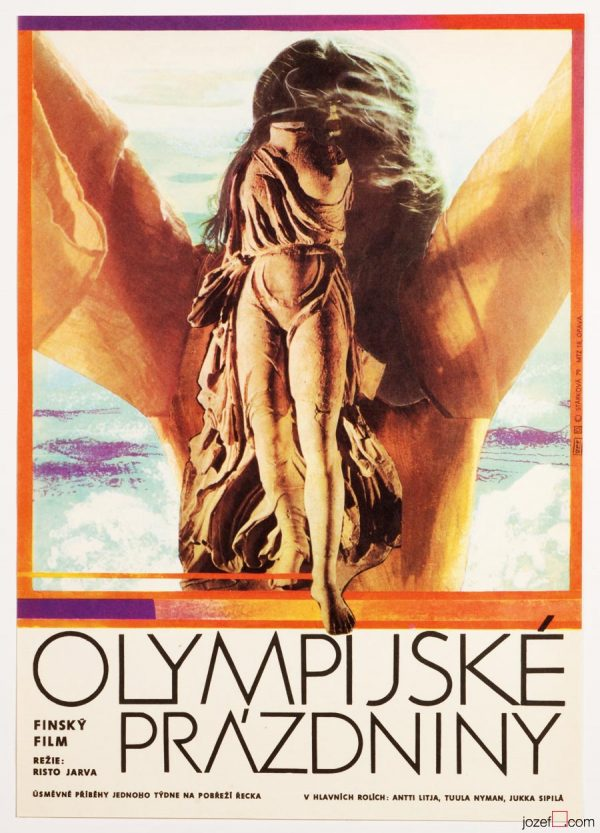 Collage Poster, Olympian Holiday