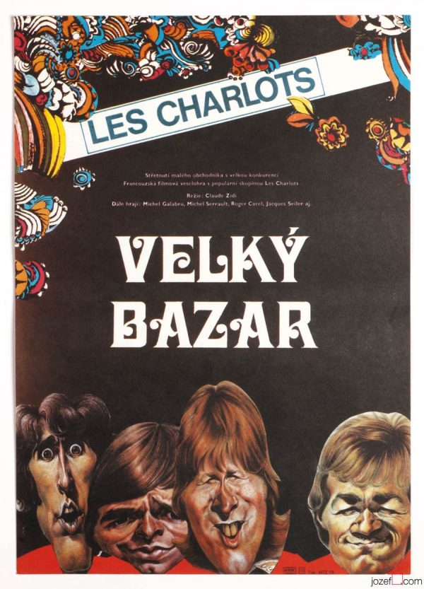 Le Grand Bazar, Movie Poster, Petr Chalabala