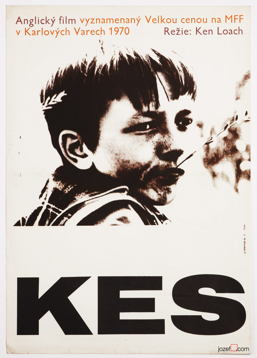 KES, 1970s Movie Poster
