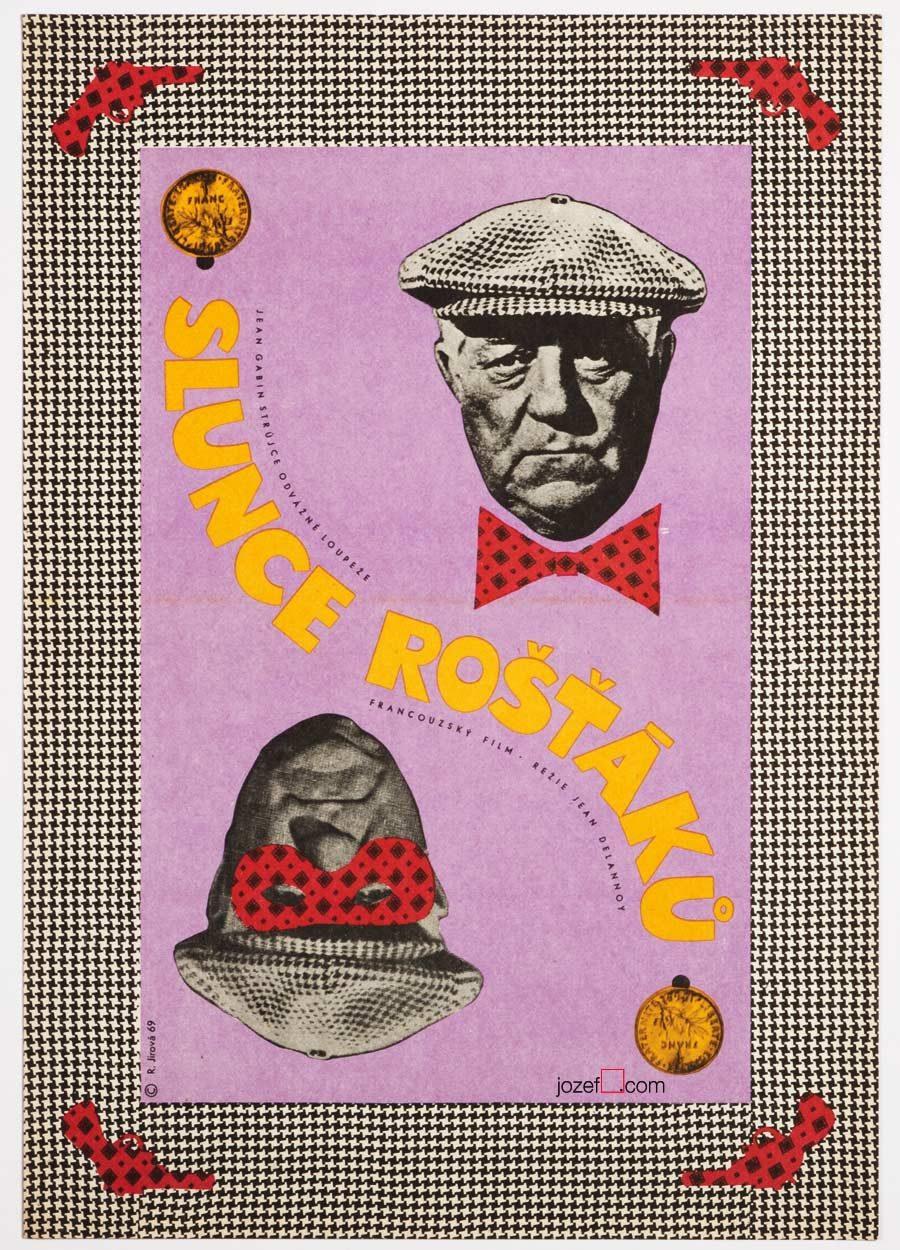 Le Soleil des Voyous, Vintage poster