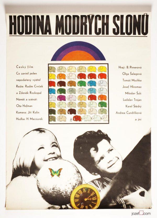 Vintage Movie Poster, Kids Poster