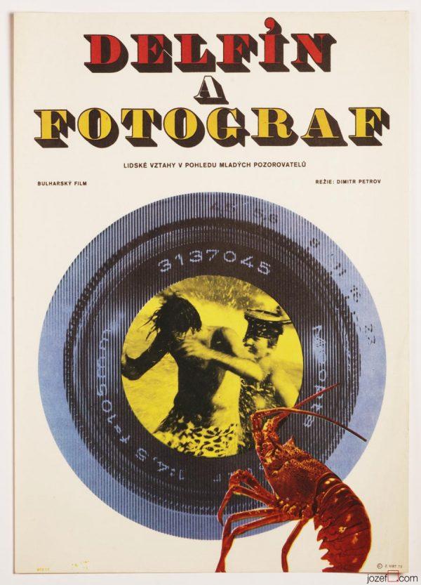Kids Movie Poster, 70s Vintage Poster