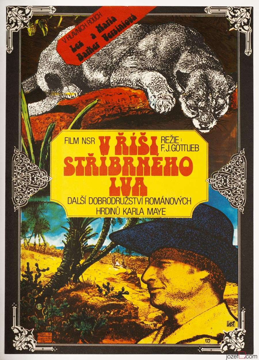 Western Movie Poster, 1970s Western