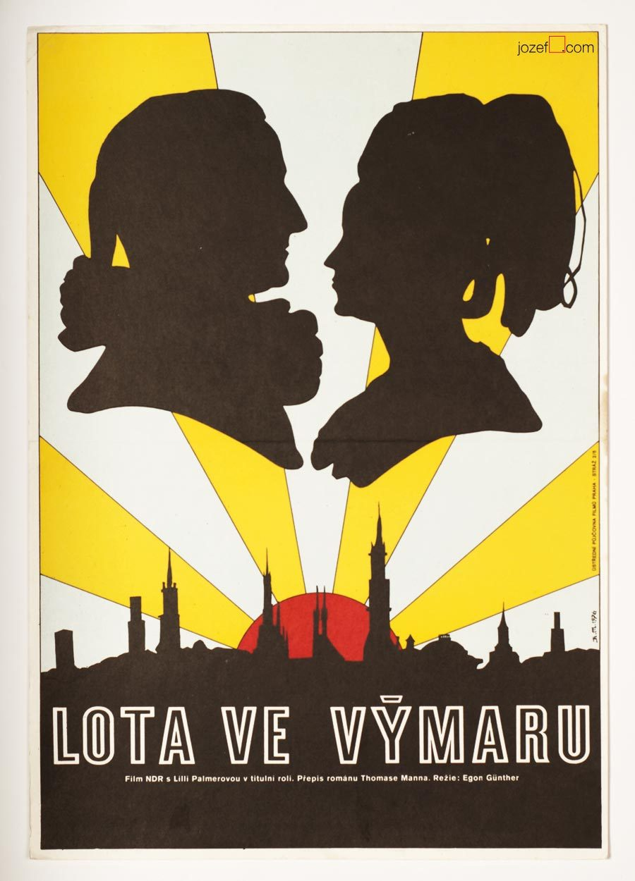 Lotte in Weimar, Minimalist Movie Poster