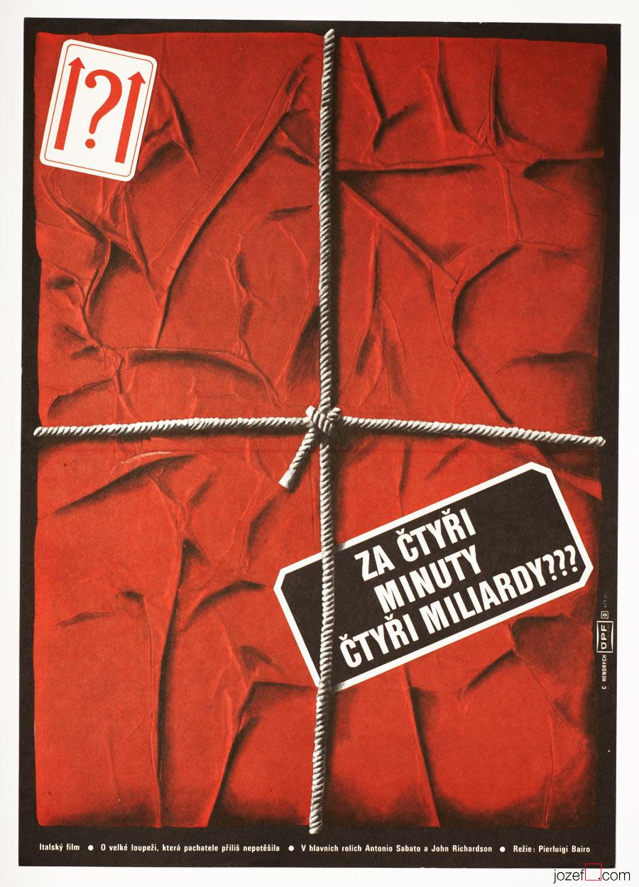 4 Billion in 4 Minutes , Minimalist Movie Poster