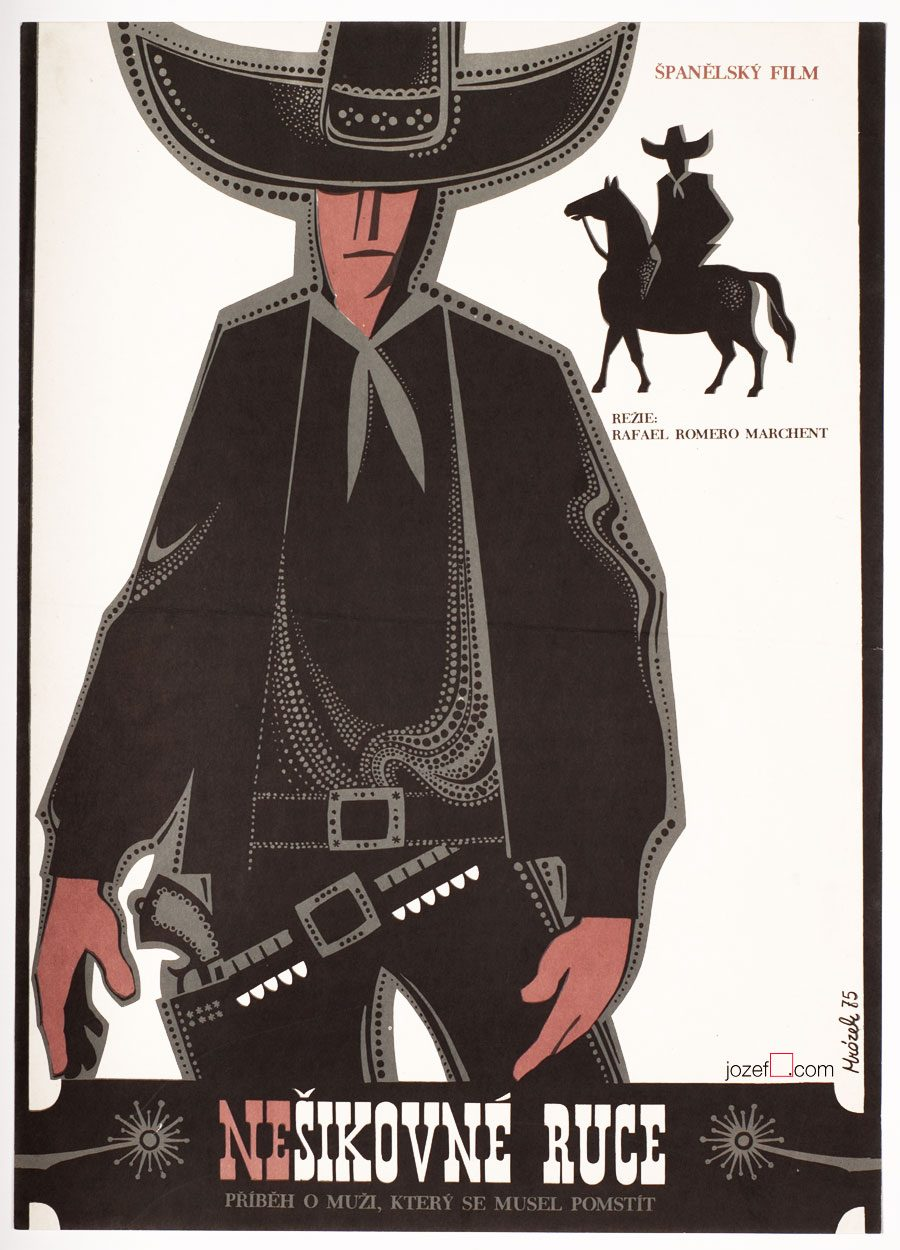 Western Poster, 70s Movie Poster