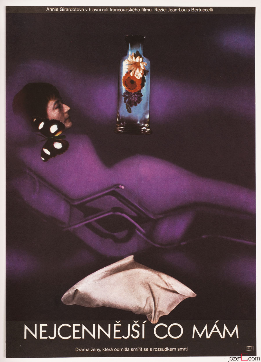 Vintage Movie Poster, 1970s Surreal poster