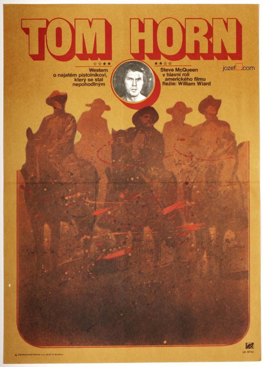 Tom Horn - Vintage Movie Poster, 80s Poster Art
