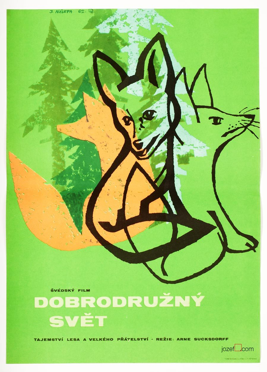 Arne Sucksdorff, The Great Adventure Movie Poster