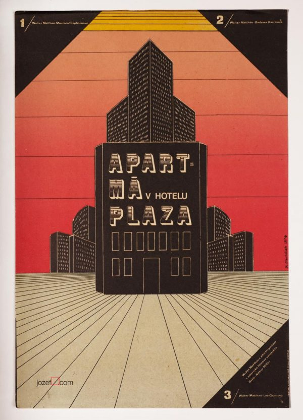Original Movie Poster, Plaza Suite
