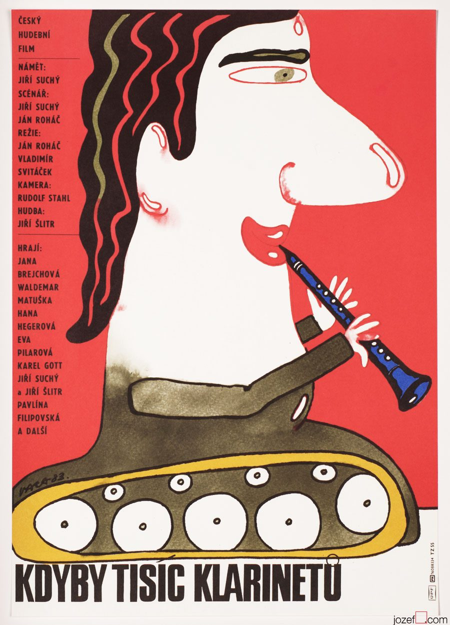 Movie poster, If a Thousand Clarinets