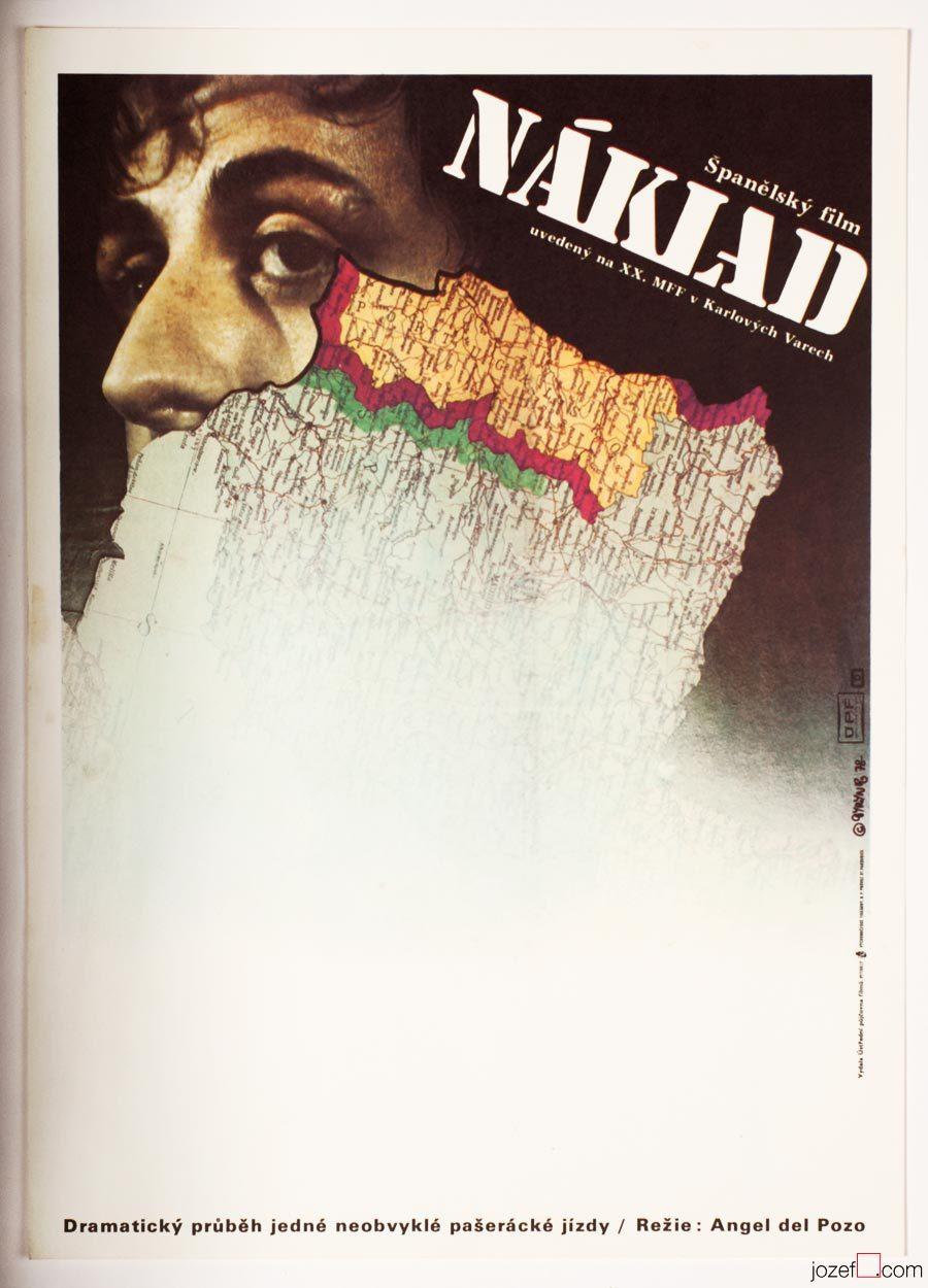 Minimalist Movie Poster, 1970s Poster Art
