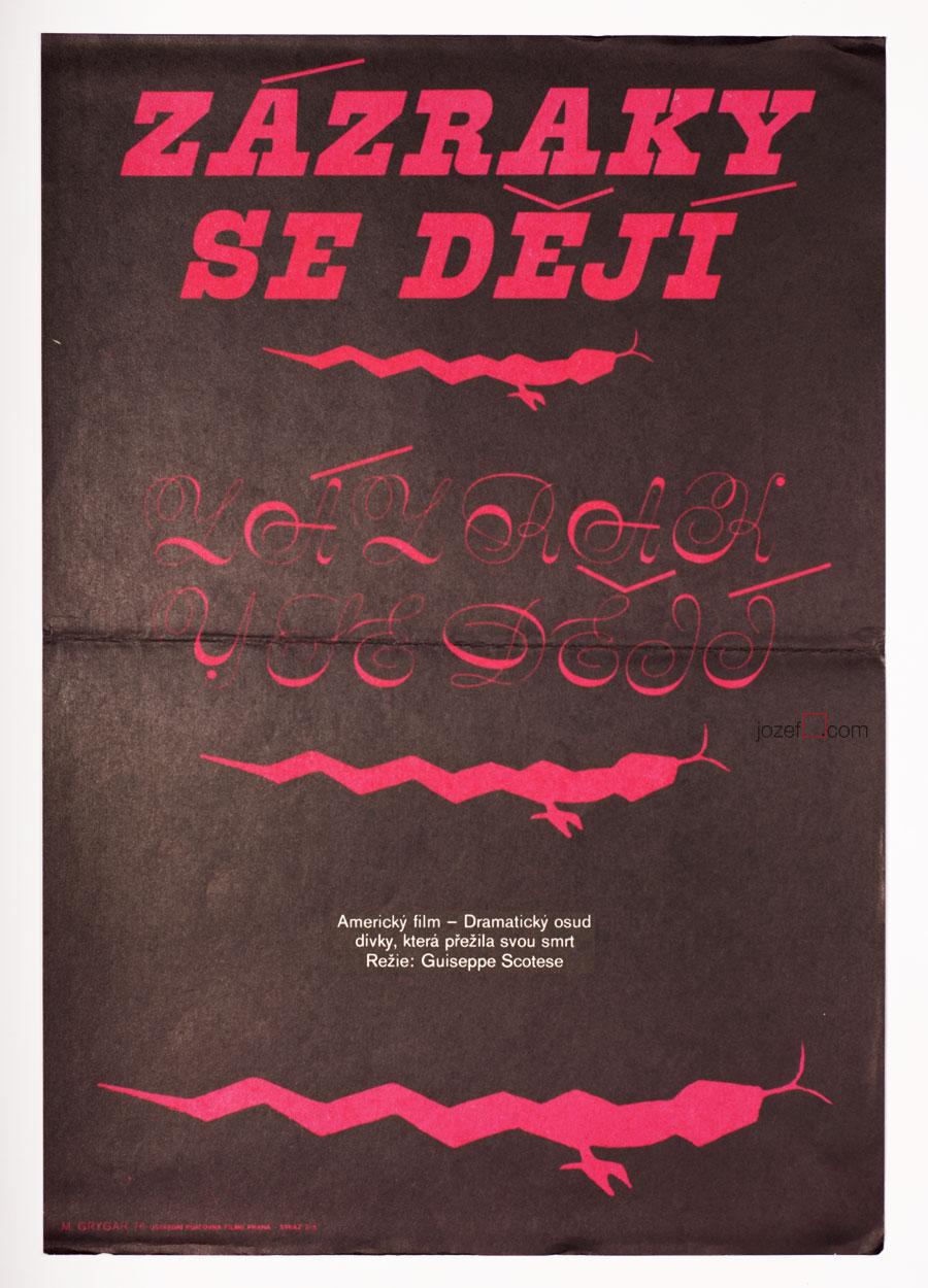 Vintage Movie Poster, Miracles Still Happen