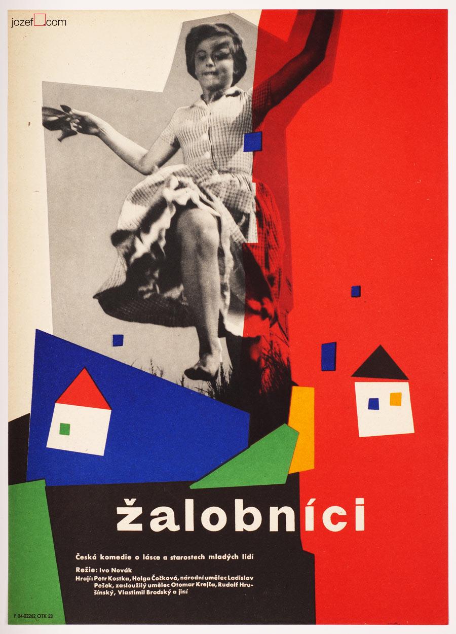 60s Movie Poster, Telltales, Minimalist poster