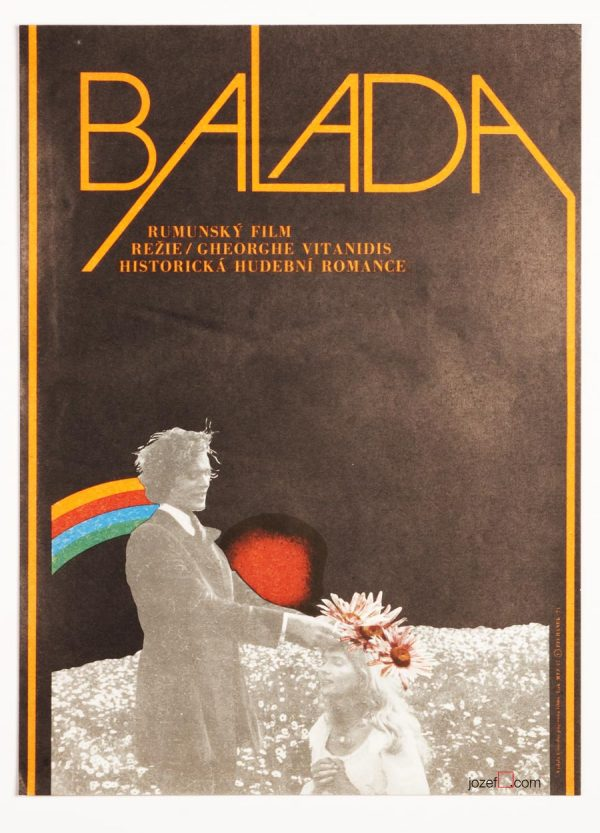 The Ballad, Minimalist Movie Poster