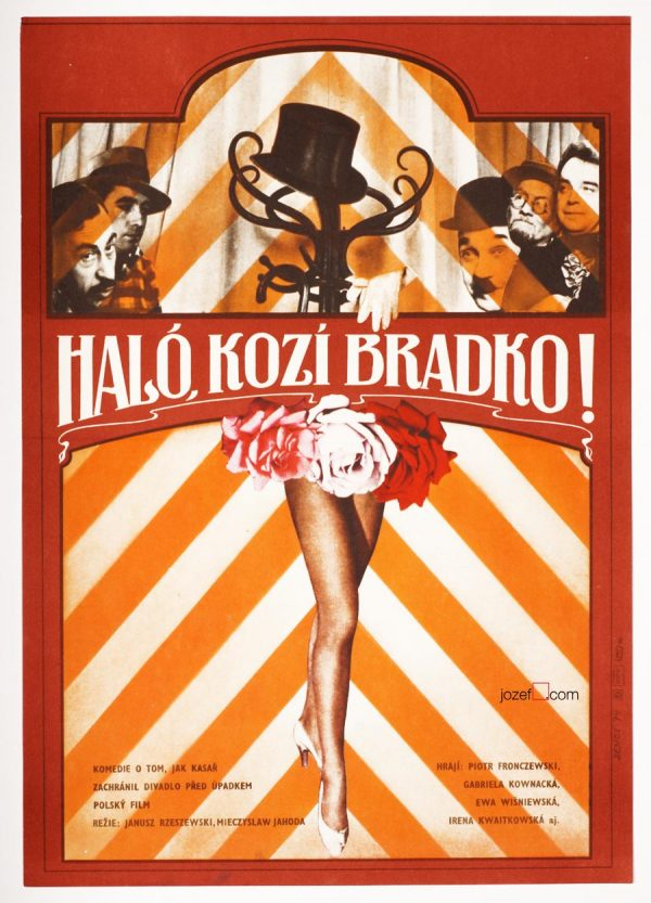 Collage poster, Hallo Szpicbródka