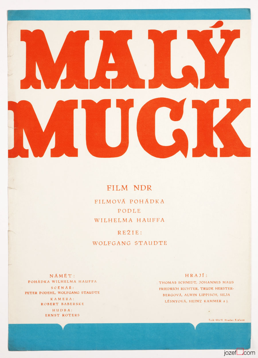 Vintage Movie Poster, The Story of Little Mook