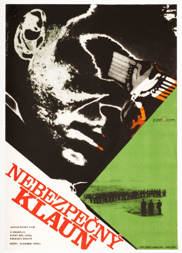 Vintage Movie Poster , Hitler from Our Street
