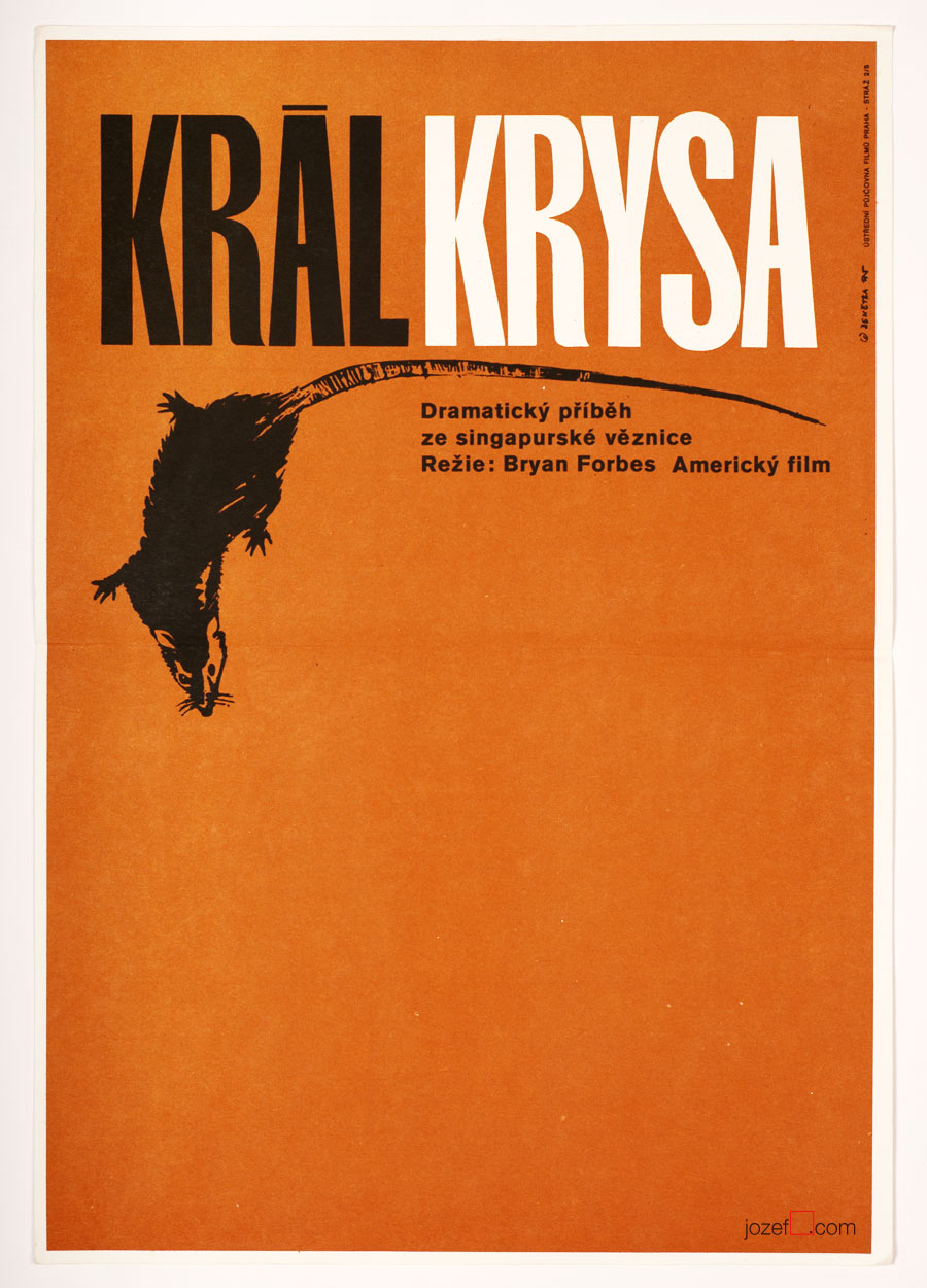 King Rat, Minimalist Movie Poster