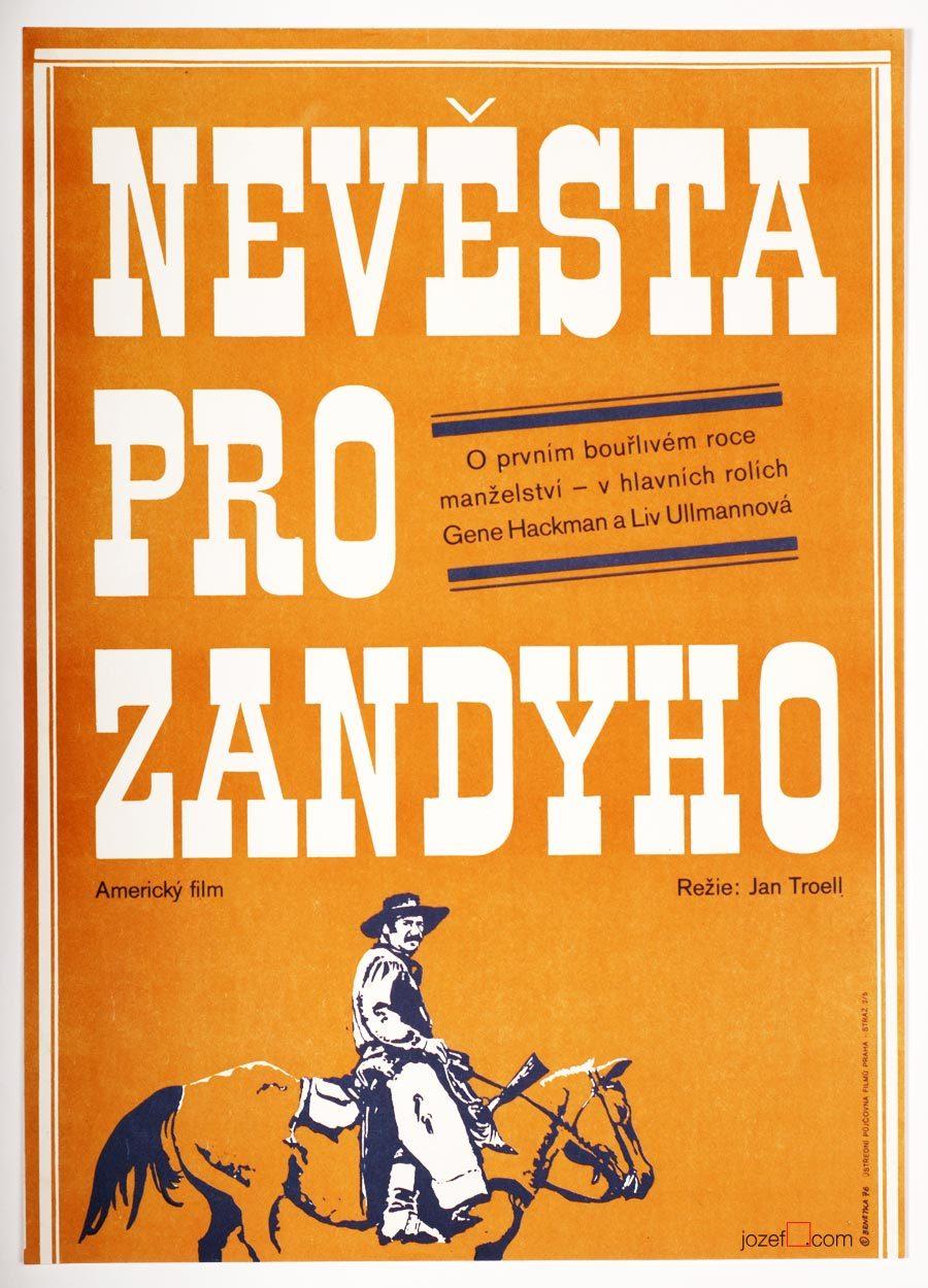 Zandy's Bride, Western Poster