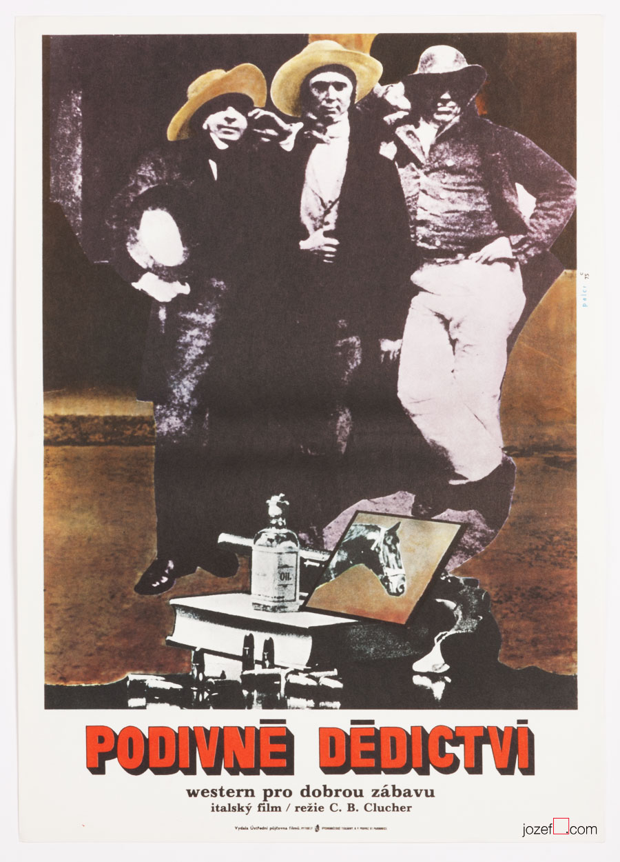 Man from the East, Western Movie Poster