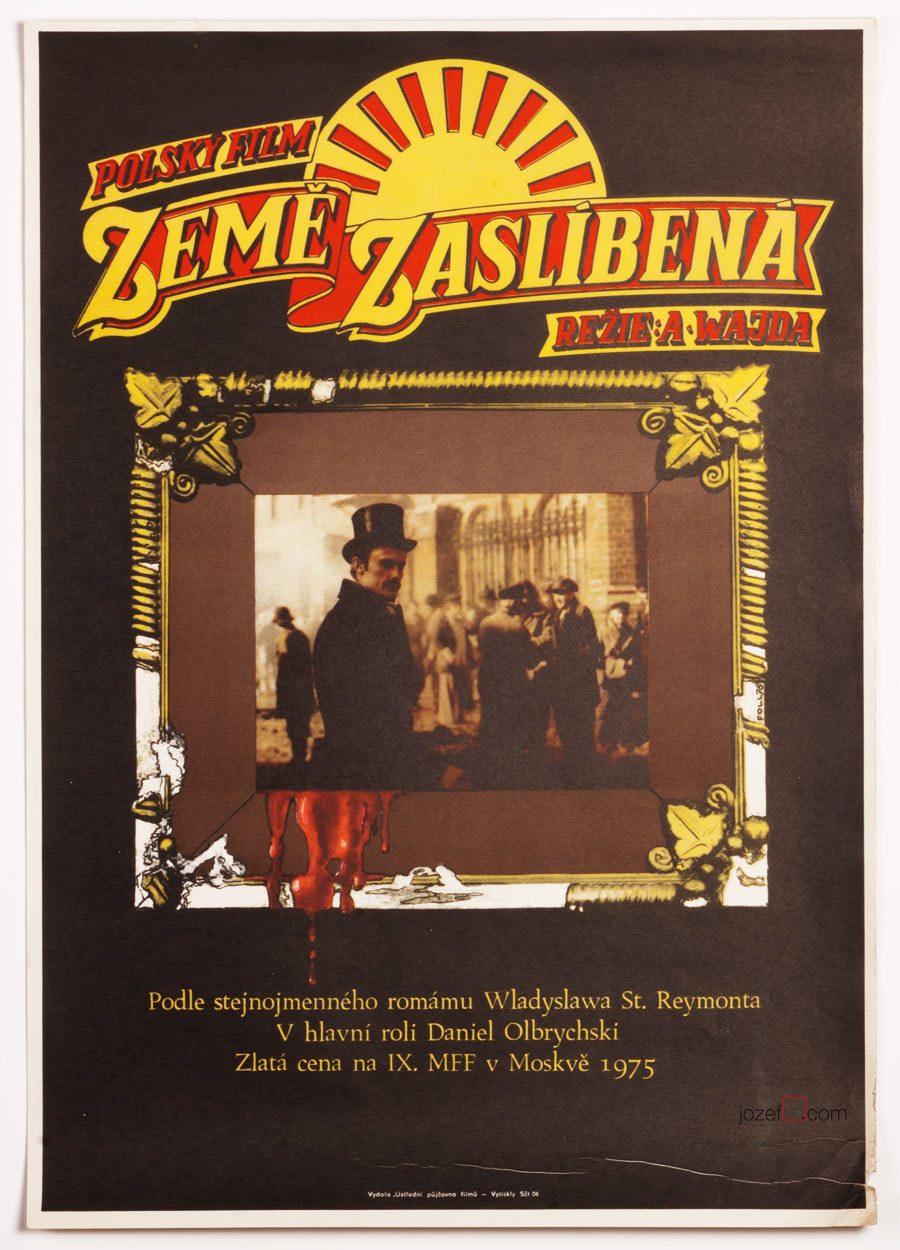 Movie Poster The Promised Land / Andrej Wajda.