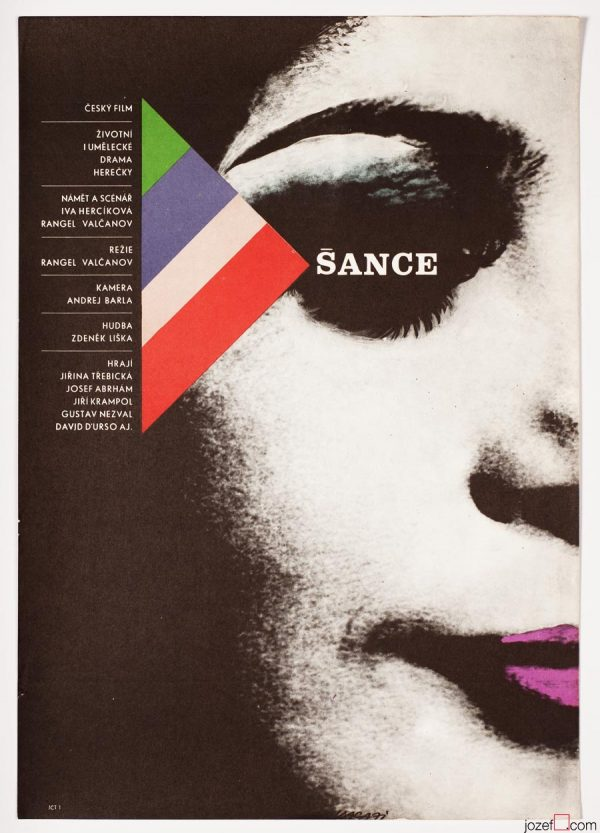 Movie Poster, Chance, Minimalist Poster Design by Karel Vaca