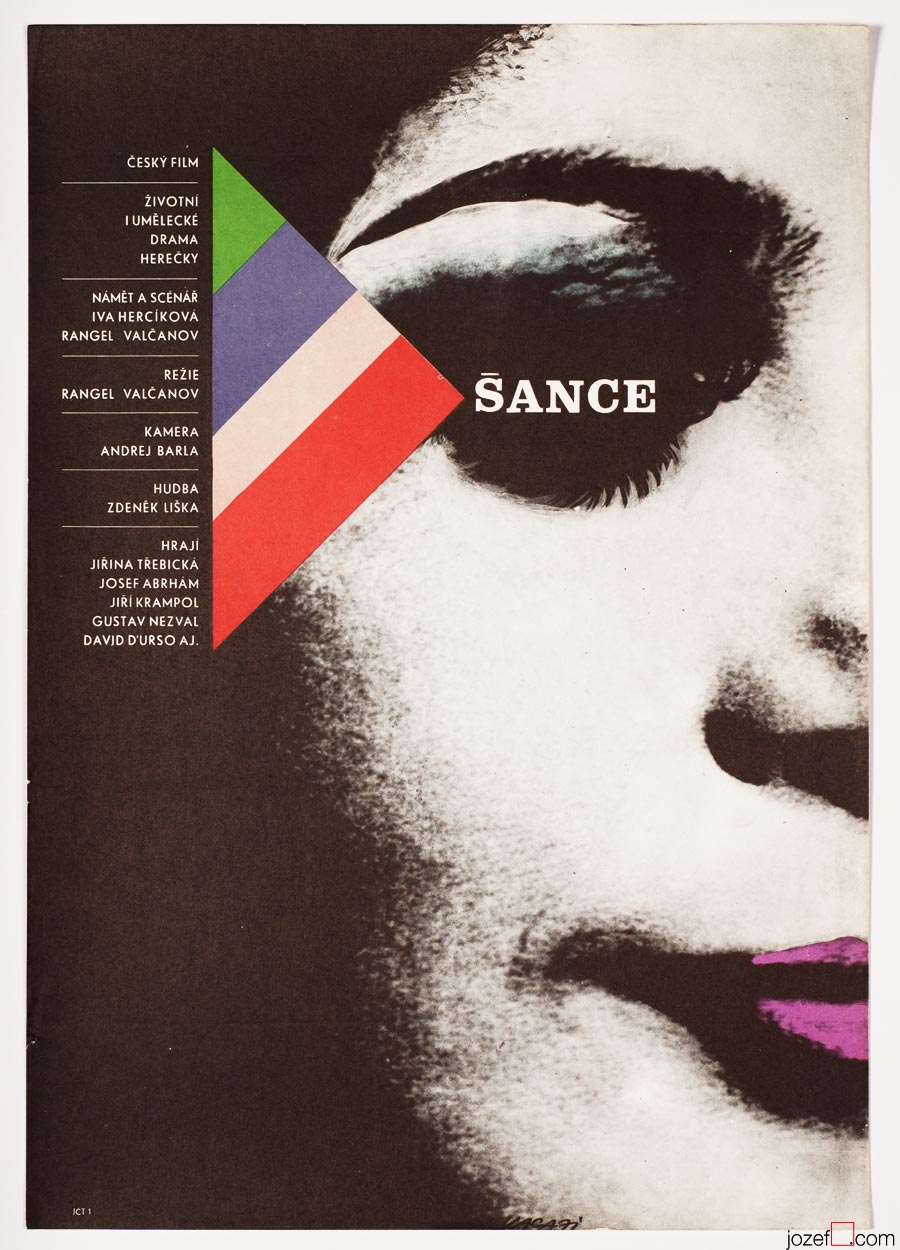 Movie Poster, Chance, Minimalist Poster Design by Karel Vaca