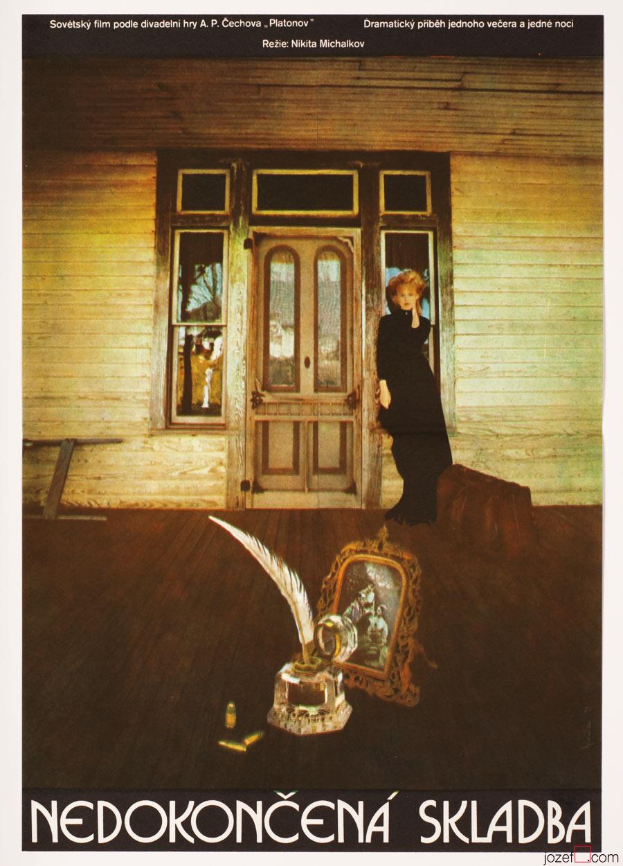 Original movie poster. Surreal Poster Olga Poláčková-Vyleťalová.