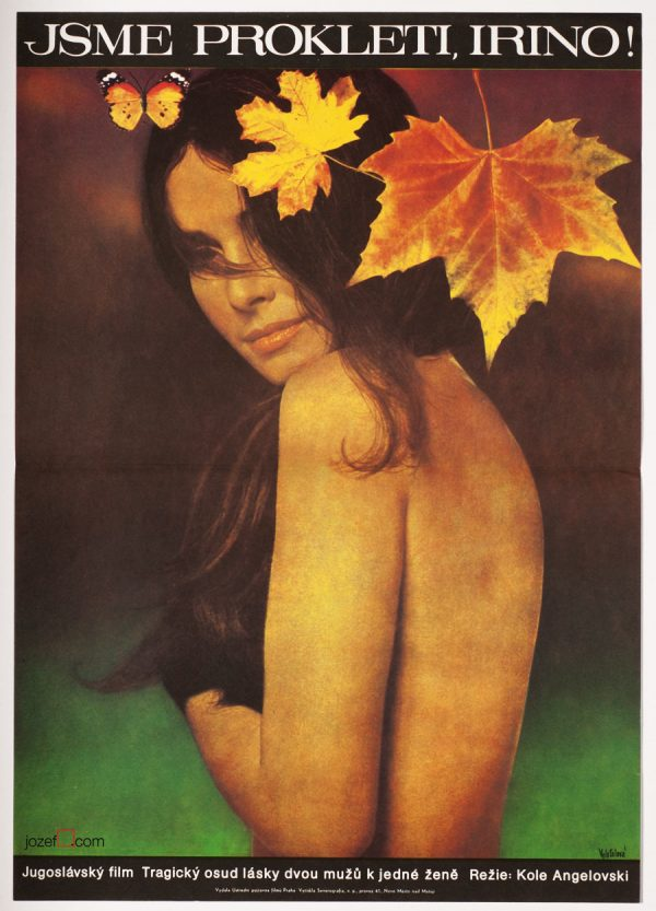 Vintage Movie Poster, Poetic Collage Poster