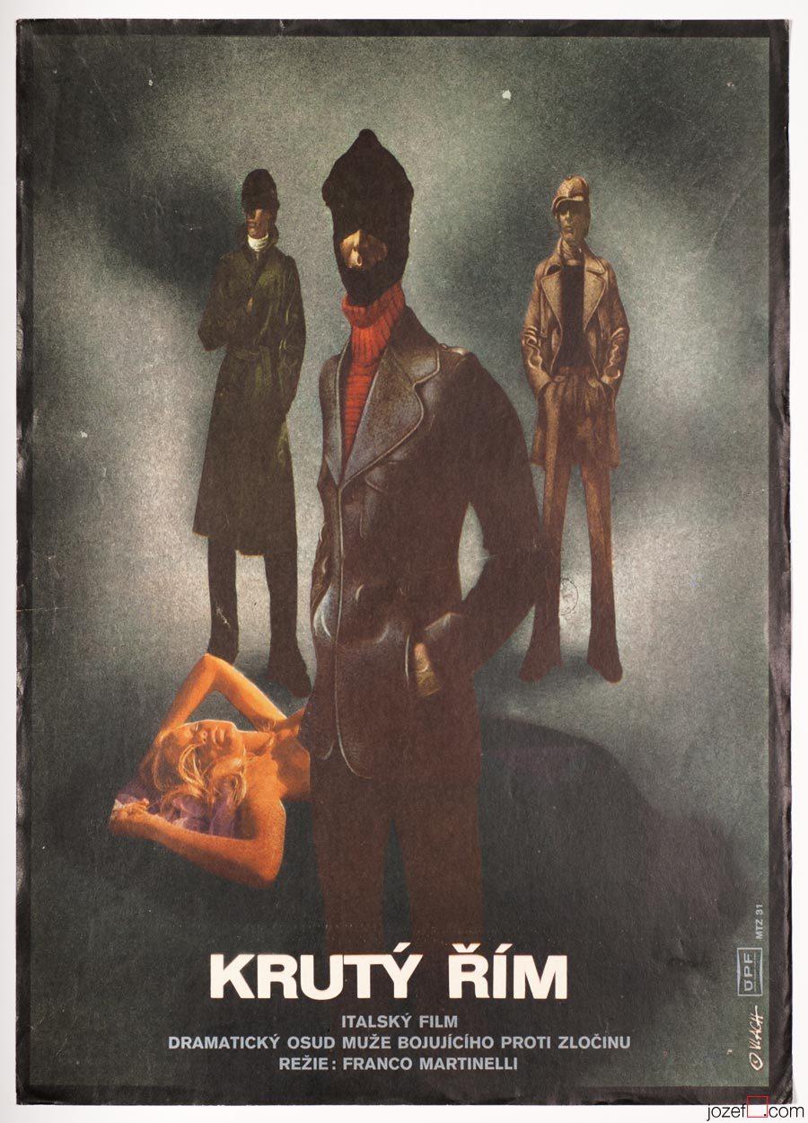 Vintage Movie Poster, Violent City